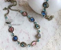 restore ancient ways jewelry jewelry 2013 crystal rhinestone necklace