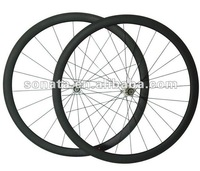 very competitve 700c wheels clincher carbon 38mm With Novatec A271SB F372SB Free Shipping