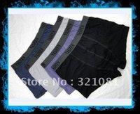 Free shipping 5pcs /Lot Steel Boxer men's Underwear  93% cotton 7% spandex MIX ORDER