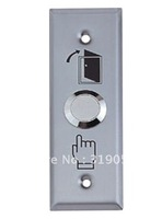 free shipping+5pcsThe stainless go out switch  use in access control system