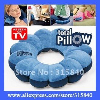 4pcs New 2014 Personal Total Pillow Amazing Body Massager Neck Massage Plum Flower Pillow As Seen On TV -- MTV81
