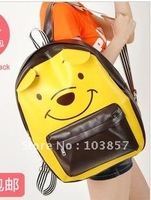 New cute cartoon double shoulder pack tourism leisure sports bag bag bag of men and women
