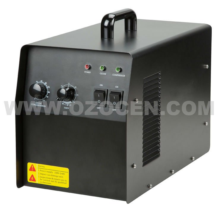 Free Shipping 5000mg/hr Commercial Air Water Purification Portable Ozone Generator(China (Mainland))
