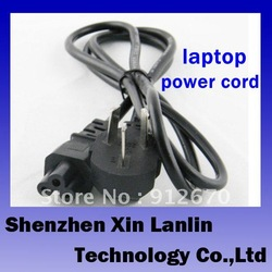 10pcs free shipping high quality 3 hole power cord laptop AV power line power supply cable #6764(China (Mainland))