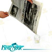 Paper Filled Water-king Magic tricks/magie/magia