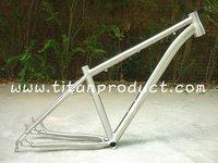 Titanium Bike Frame 29ER With Tapered Headtube and Bending Downtube