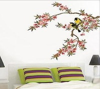 Charactizing a fine spring day Home room Decor Removable Wall Sticker/Decal/Decoration