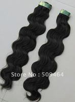 New Arrival! 20-26  Inch Peruvian Hair / 100% Human Hair /Body Wave /Black  Color  1pcs Free Dropshipping