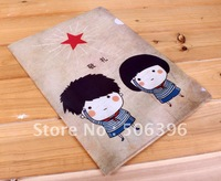 "Free Shipping Cartoon cute babies ""L"" design PP File folder / A4 documents file bag / document bag Wholesale"