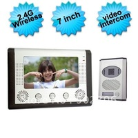 2.4Ghz Wireless Video Door Phone With 7 Inch Color LCD Screen   EW-VDP490
