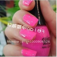 Nail art quality goods South Korea SHISEM nail polish 15 ml lovely rose red pure color 158 Cecilia cheung love