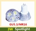 Good Quality 220V 3W 3*1W GU5.3 MR16 spotlight High power LED bulb LED lamp counter Spotlight
