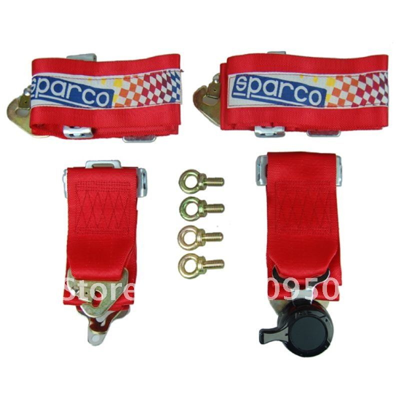 Sparco Racing Harness 4 Point /4-points-font-b-sparco-b