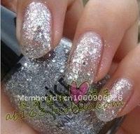 Nail art quality goods South Korea SHISEM nail polish 15 ml783 diamond shining silver flash card point bottle