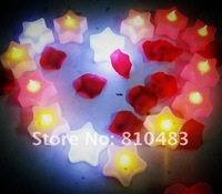 Free shipping wholesale 50pcs/lot  Flameless Led Tealight Candle Mix colors