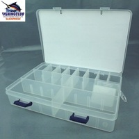 box New Plastic Buckle Case Styled Fishing Tool Tackle Box Delicate Utility Boxes HZ12 freeshipping wholesale price
