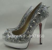 free shipping Wedding high-heeled shoes Fashion high-heeled shoes