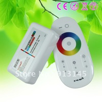 DC12V-24V wireless touching rgb controller/rf rgb touch remote controller 216w~432w free shipping high quality