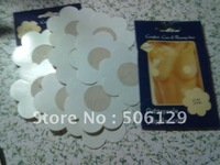 wholesale 3000pcs fabric nipple cover10 pcs in 1 retail pack total 300 pack mix 3 shape for order