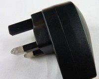 UK 3 pin plug USB AC Wall charger FOR IPOD MP3 MP4