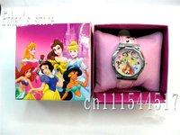 Brand New Girls  princess Wrist Watches Quartz Steel watch  lots 10 pcs/lot Retail Packaging+Free Shipping