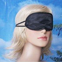 100PCS/LOT  Eye Mask Shade Nap Cover Blindfold Sleeping Travel Rest Free Shipping