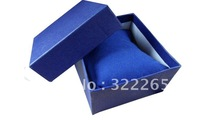 10pcs/lot Elegant pure color watch box fashionable box for watch Free shipping+Whosale