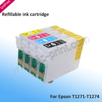 t1271  126 / 127 Ink  Refillable Ink Cartridges for Workforce 545 630 633 NX625 NX330 NX430 NX435 127
