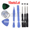 Holiday Sale! Free Shipping 10sets/Lot Repair Opening Tool Kit With 5 Point Star Pentalobe Torx For iPhone 4 4G 4816(China (Mainland))