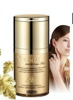 Hot !! WholesaleSKIN79 top Oriental Gold BB Cream 40g with lip gloss white , wrinkle , Face cream.BB cream