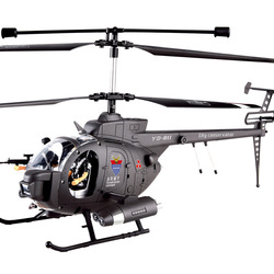 45CM 3CH GYRO Radio Control Helicopter Hughes Defender Military Helicopter Flashing LED Night Lightes YD-911(China (Mainland))