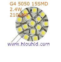 freeshipping 50pcs/lot 15LED 5050 white G4 LED lights HOME spotlight bulb led light led lamp
