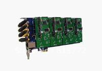 Free shipping GSM400E GSM Asterisk PCI card GSM400E
