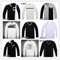 Men's Brand Long Sleeve T-Shirt Fashion Autumn Sweater Brand Men Cotton Cloth Mix Order Wholesale Shirt