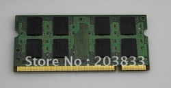 wholesale & retail DDR 333MHZ 2GB kit (1X2 PCS) ram memory module for laptop + Free shipping(China (Mainland))