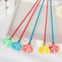 Free  shipping  200sets/lots wholesale balloon sticks and cups ,balloons accessory ,27cm length 2G/set .