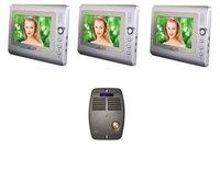 $40 off per $300 order 7''LCD Unique Design apartment Color Video doorphone intercom system , color doorphone