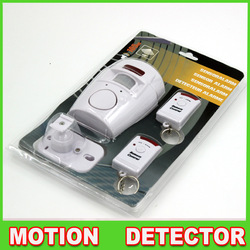 Home Security Motion Alarm, Anti theft Home Security System IR Motion Detector Alarm Remote(China (Mainland))