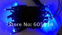 [Seven Neon]Free DHL shipping 40sets 220V 10meters 100bulbs/pcs light strings with rainning proof and snowproof for X'mas