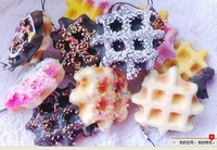 30pcs cute squishy Cell Phone Charm / phone straps/ bag charm/gift rainbow sprinkle,cream toppings