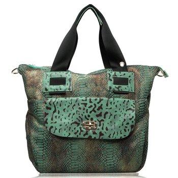 Original HongKong Oppo name brand color block hello kitty suitcase Casual canvas one shoulder cross-body women's handbag