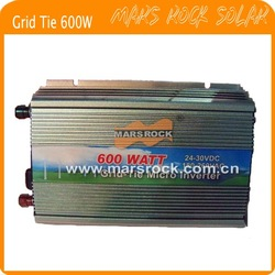 600W (10.5-28VDC) micro PV inverter, grid tie, with CE&RoHS approved, Free shipping!(China (Mainland))