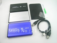 "USB 2.0 2.5"" SATA Hard Disk Drive w/ Enclosure Case"