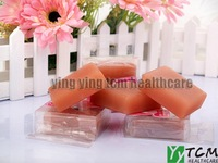 Tourmaline and bamboo charcoal Soap for whitening clears toxins 100g/pcs