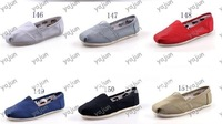 2012 fashion unisex slip on classic canvas shoes wholesale and retail
