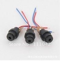Laser diode, Laser head, 4.5v Laser tube ,Plastic gyro module, red dot,10pcs a pack ,free shipping