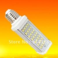 2pcs Warm/Cool white 13W Led G24 PL Light Aluminum+PC G24/E27 Base 3 years warranty Epistar 28SMD Cornlight