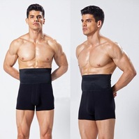 New Bamboo Men Body Shapers Boxers Underwear Slim fit Men's Shaper  Black / White 2pcs/lot Size M L XL Free shipping