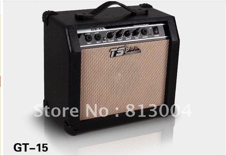 15W Audio / MP3 Speaker / MP4 Speaker/ generic version of professional folk acoustic guitar speakers / dual plug a guitar amp(China (Mainland))