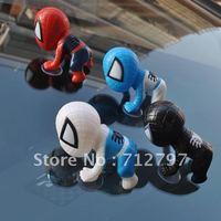 The Q version Spiderman cute sucker doll sucker Spiderman car accessories ornaments Jushi